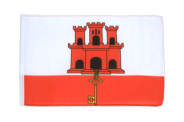 Gibraltar 12x18 in Flag
