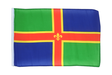 Lincolnshire 12x18 in Flag