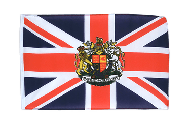 Great Britain with crest 12x18 in Flag