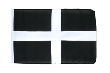 St. Piran Cornwall 12x18 in Flag