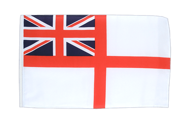 Naval Ensign of the White Squadron 12x18 in Flag
