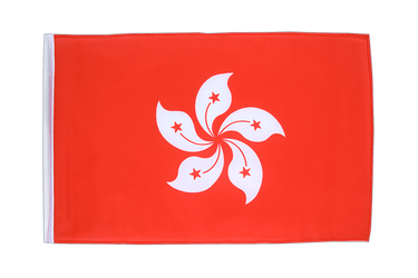 Hong Kong 12x18 in Flag