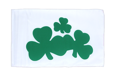 Shamrock 12x18 in Flag