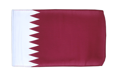 Qatar 12x18 in Flag