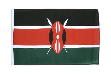 Kenya 12x18 in Flag