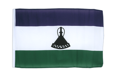 Lesotho new 12x18 in Flag
