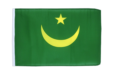 Mauritania 12x18 in Flag
