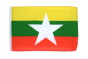 Myanmar new 12x18 in Flag