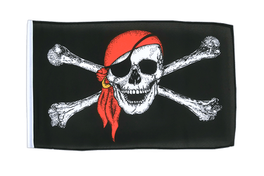 Pirate with bandana 12x18 in Flag