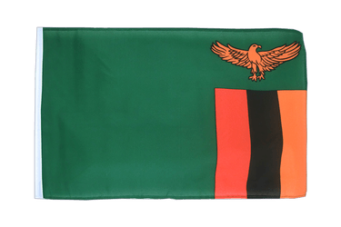 Zambia 12x18 in Flag