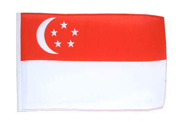 Singapore 12x18 in Flag