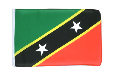 Saint Kitts and Nevis 12x18 in Flag