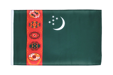 Turkmenistan 12x18 in Flag