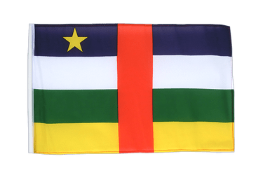 Central African Republic 12x18 in Flag