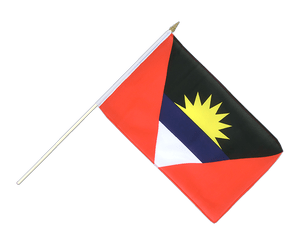 Antigua and Barbuda Hand Waving Flag 12x18""