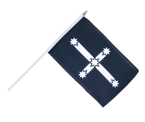 Eureka 1854 Hand Waving Flag 12x18""