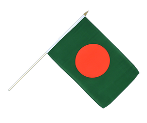 Bangladesh - Hand Waving Flag 12x18""