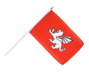 Pendragon new Hand Waving Flag 12x18""