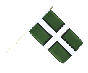 Devon Hand Waving Flag 12x18""