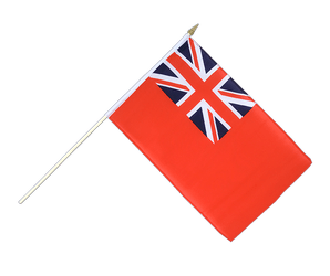 Red Ensign Hand Waving Flag 12x18""