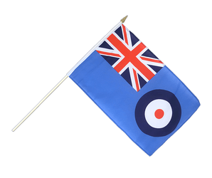 Royal Airforce Hand Waving Flag 12x18""