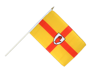 Ulster Stockflagge 30 x 45 cm