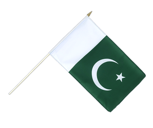Pakistan Hand Waving Flag 12x18""
