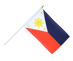 Philippines Hand Waving Flag 12x18""