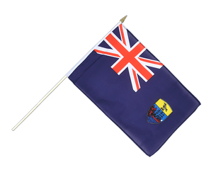 Saint Helena Hand Waving Flag 12x18""