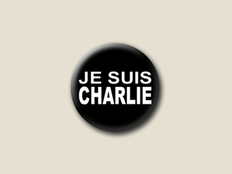 Je suis Charlie Kleiner Button 25 mm