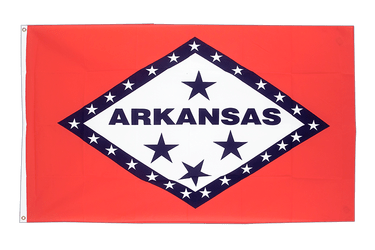 Arkansas 2x3 ft Flag