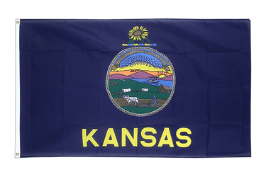 Kansas - 2x3 ft Flag