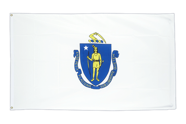 Massachusetts 2x3 ft Flag