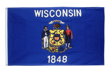 Wisconsin - 2x3 ft Flag
