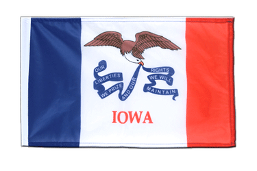 Iowa - 12x18 in Flag