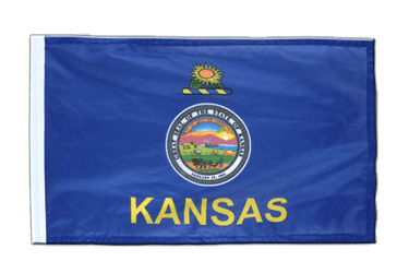 Kansas - 12x18 in Flag