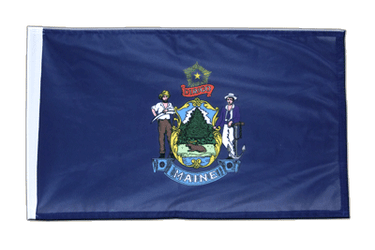 Maine 12x18 in Flag