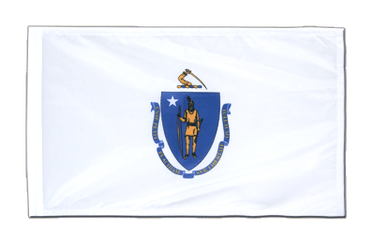 Massachusetts 12x18 in Flag