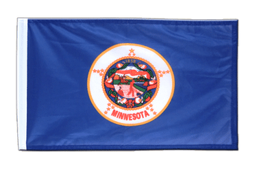 Minnesota 12x18 in Flag