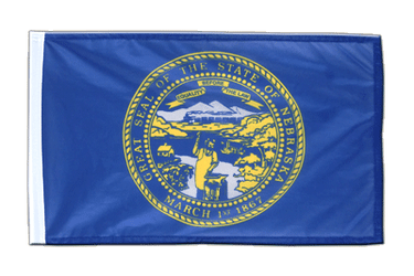 Nebraska - 12x18 in Flag