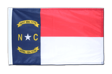 North Carolina Flagge 30 x 45 cm