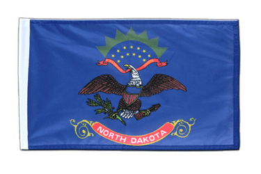 Petit drapeau North Dakota - 30 x 45 cm