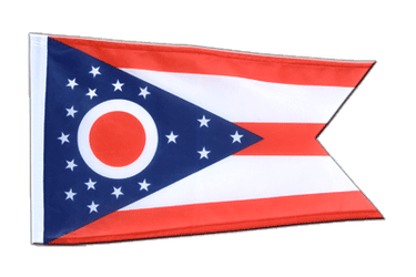 Ohio 12x18 in Flag