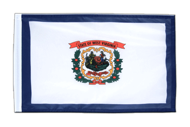 Petit drapeau West Virginia 30 x 45 cm