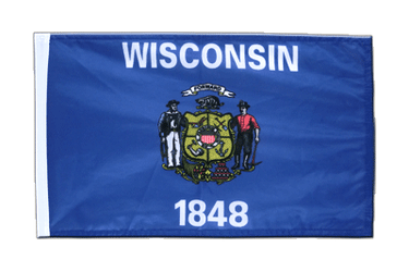 Wisconsin 12x18 in Flag