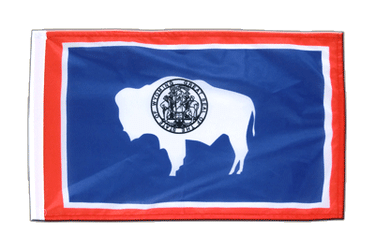 Wyoming 12x18 in Flag