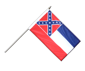 Mississippi Stockflagge PRO 30 x 45 cm
