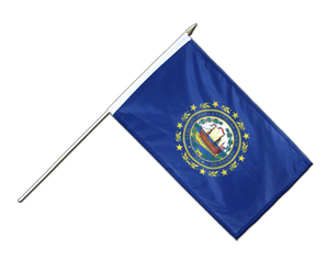 New Hampshire Stockflagge PRO 30 x 45 cm