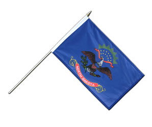 North Dakota - Stockflagge PRO 30 x 45 cm