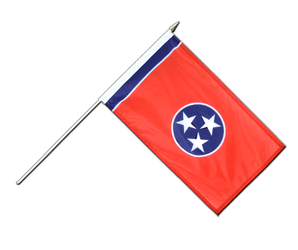 Tennessee Hand Waving Flag 12x18""